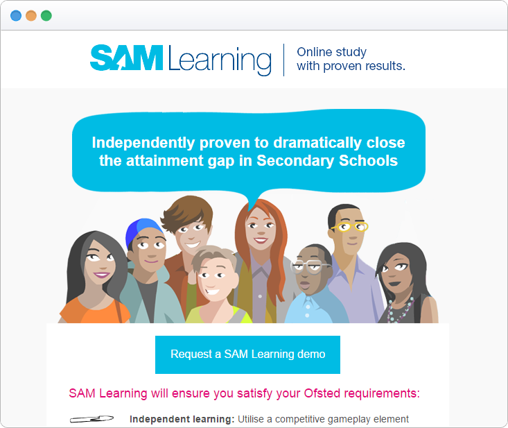 How a Full-Year Strategy Helped SAM Learning Increase Sales by 13%